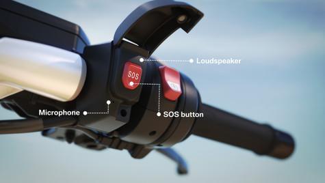 Sistem SOS pe motocicletele BMW, din 2017