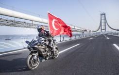 400 km/h pe podul Osman Gazi