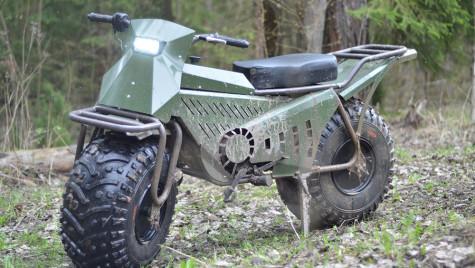 Tarus 2×2: Humvee-ul motocicletelor
