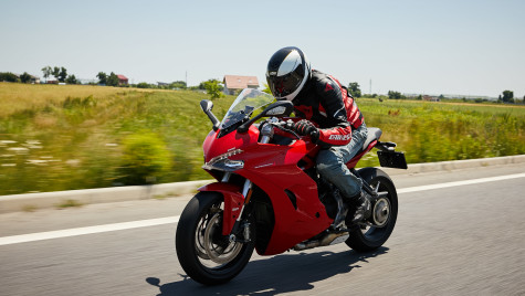 Ducati Supersport – lecția italiană de sport-touring