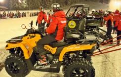 EuroNautica International donează o sanie tractabilă medicală și un ATV Serviciului Salvamont Brașov, în valoare de circa 35.000 lei