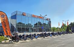 Camionul Harley on Tour la București