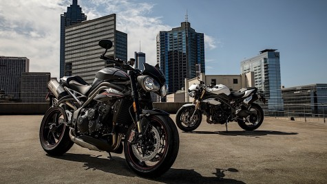 Noutăți de la Triumph – Speed Triple S și RS