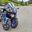 Yamaha Niken testat în România la Poiana Brașov