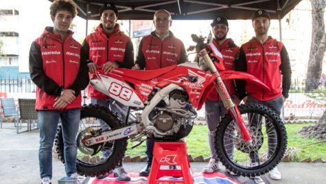 Echipa D'Arpa Racing Honda Red Moto 2019 prezentată la Palermo