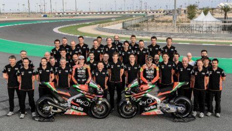 Noua Aprilia RS-GP pentru sezonul competițional 2019
