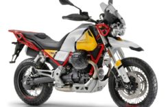 Moto Guzzi V85 TT așteptată cu interes la vânzare