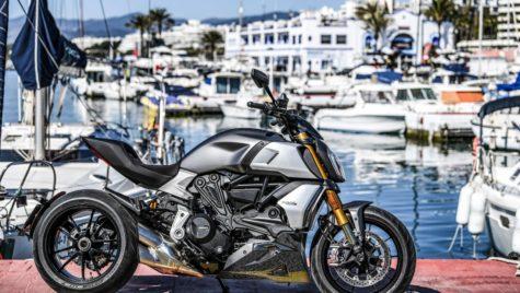 Ducati Diavel 1260 premiat pentru design-ul său