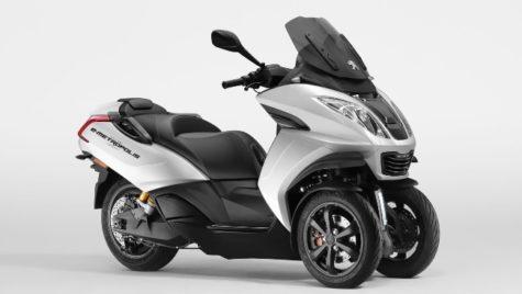 Conceptul Peugeot E-Metropolis cu propulsie electrică și trei roți