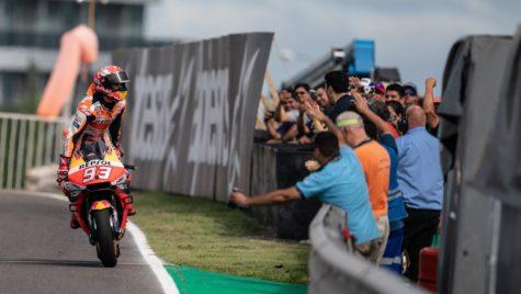 Marc Marquez invincibil în Argentina Grand Prix