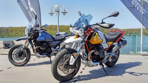 Moto Guzzi V85 TT – prim contact în România