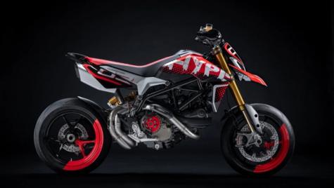 Conceptul Ducati Hypermotard 950
