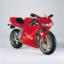 Ducati 916 o legendă  vie printre modelele moto sport