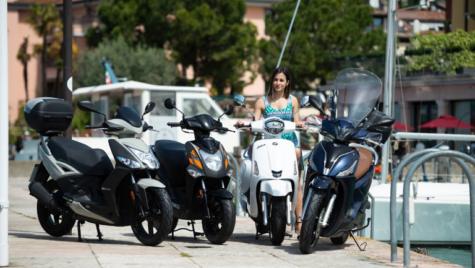 Kymco revitalizează complet gama de scutere