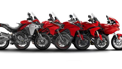100.000 de unități produse din modelul Ducati Multistrada