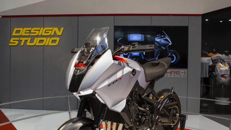 Conceptul Honda CB4X la EICMA 2019