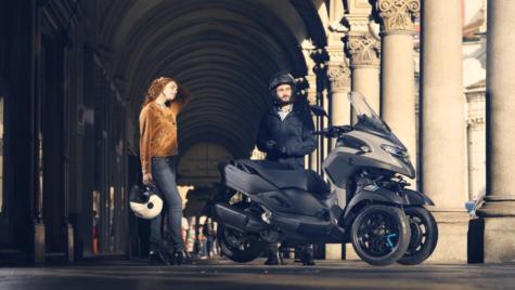 Noul scuter cu trei roți Yamaha Tricity 300
