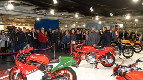 Expozție specială Ducati la muzeul Volkswagen