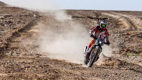 Dakar 2020 – Mani Gyenes liderul clasei Malle Moto cu 3 etape înainte de final