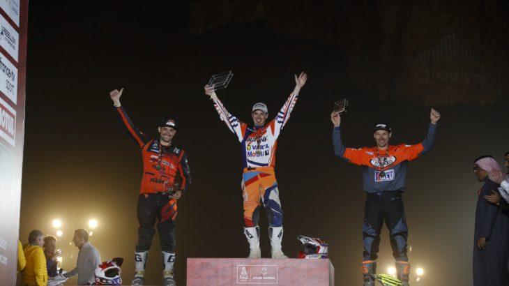 Mani Gyenes câștigă clasa Malle Moto a Raliului Dakar