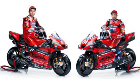 Ducati pregătită pentru noul sezon Moto GP 2020