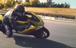 Motocicleta electrică Damon Hypersport care previne accidentele