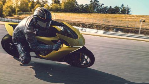 Motocicleta electrică Damon Hypersport care previne accidentele
