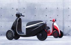 Microletta un nou vehicul cu trei roti, propulsie electrică și stil retro