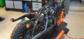 Harley-Davidson® București susține lupta împotriva pandemiei de Covid-19 printr-un proiect custom