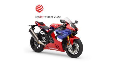 Premiul Red Dot Design 2020 pentru Honda CBR 1000RR-R Fireblade SP