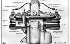 100 de ani de motoare boxer BMW
