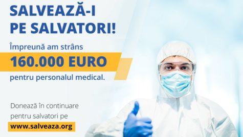 """""""SALVEAZĂ-I PE SALVATORI"""" – 9 spitale ajutate"""