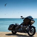 Harley-Davidson Road Glide: Chemarea drumului